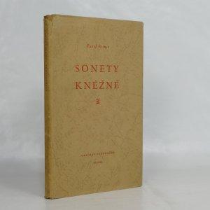 náhled knihy - Sonety kněžně