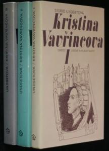 náhled knihy - Kristina Vavřincova I.- III. díl
