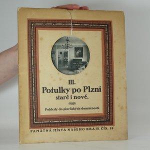 náhled knihy - Potulky po Plzni staré i nové III. Pohledy do plzeňských domácností