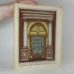 náhled knihy - Potulky po Plzni staré i nové IV. - Měšťanské domy na severní straně náměstí