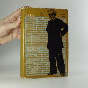 náhled knihy - Verdi. Román opery.