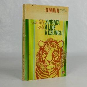 náhled knihy - Zvířata a lidé v džungli