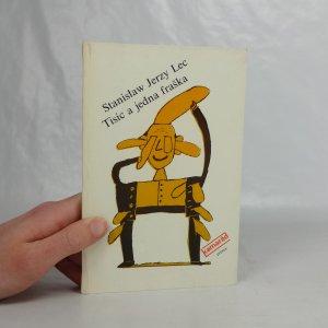 náhled knihy - Tisíc a jedna fraška (aneb učebnice rýmobraní a sešity nerozčesaných myšlenek)