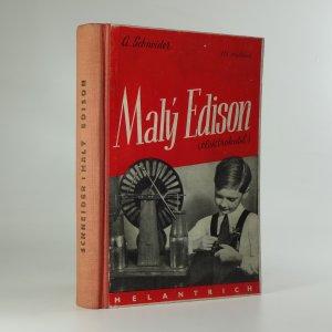 náhled knihy - Malý Edison