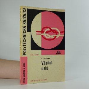 náhled knihy - Vázání uzlů