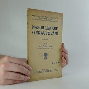 náhled knihy - Názor lékaře o skautování