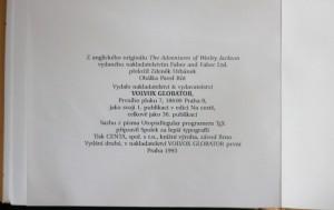 antikvární kniha Dobrodružství Wesleye Jacksona, 1993