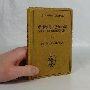náhled knihy - Geschichte Israels bis auf die griechische Zeit