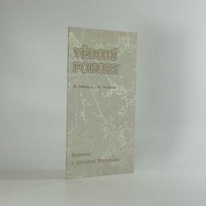 náhled knihy - Vědomí pokory : rozhovor s A. Einsteinem