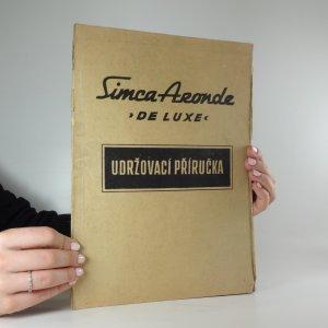 náhled knihy - Udržovací příručka: Simca Aronde
