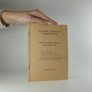 náhled knihy - Historie lyžování v Západočeském kraji. Vydáno při příležitosti 100 letého výročí lyžování v ČSR.