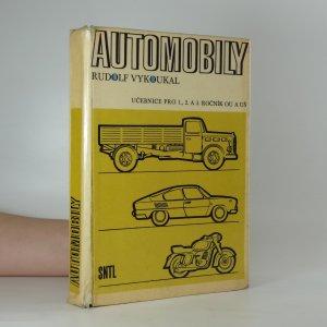 náhled knihy - Automobily pro 1., 2. a 3. ročník odborných učilišť a učňovských škol