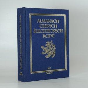 náhled knihy - Almanach českých šlechtických rodů