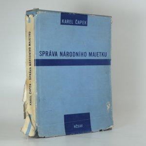 náhled knihy - Správa národního majetku