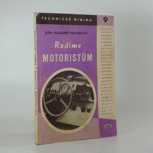 náhled knihy - Radíme motoristům, jak lépe a úsporněji jezdit