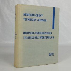 náhled knihy - Německo-český technický slovník = Deutsch-tschechisches technisches Wörterbuch