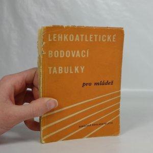 náhled knihy - Lehkoatletické bodovací tabulky pro mládež