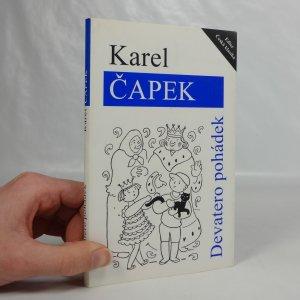 náhled knihy - Devatero pohádek a ještě jedna jako přívažek od Josefa Čapka