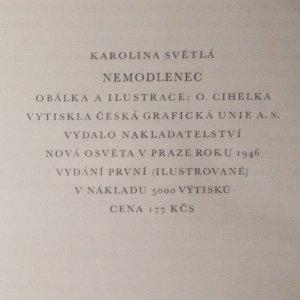 antikvární kniha Nemodlenec, 1946