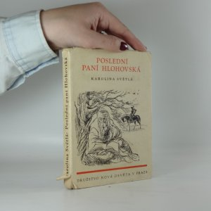 náhled knihy - Poslední paní Hlohovská