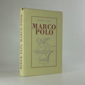 náhled knihy - Marco Polo. Člověk a doba