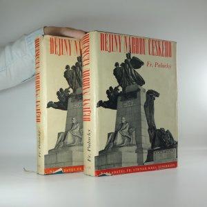 náhled knihy - Dějiny národu českého v Čechách a v Moravě (5 dílů ve dvou svazcích)