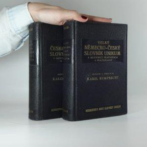 náhled knihy - Velký německo-český a česko-německý slovník Unikum s mluvnicí, pravopisem a frazeologií