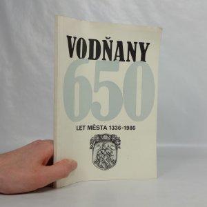 náhled knihy - Vodňany : 650 let města (1336-1986)