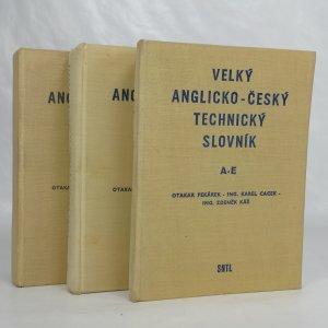 náhled knihy - Velký anglicko-český technický slovník = A large English-Czech technical dictionary