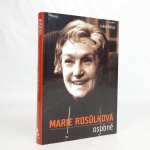 náhled knihy - Marie Rosůlková osobně