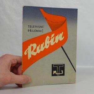 náhled knihy - Návod k obsluze televisního přijímače Rubín