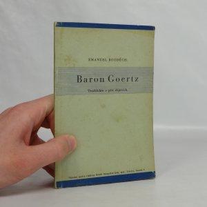 náhled knihy - Baron Goertz