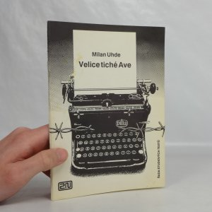 náhled knihy - Velice tiché Ave : Rozhlasová hra