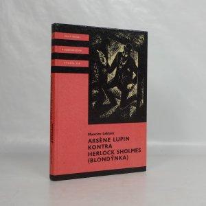 náhled knihy - Arsène Lupin kontra Herlock Sholmes : (Blondýnka)