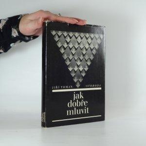 náhled knihy - Jak dobře mluvit