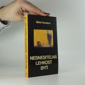 náhled knihy - Nesnesitelná lehkost bytí