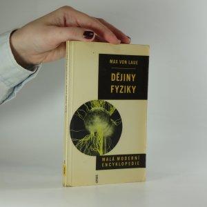 náhled knihy - Dějiny fyziky