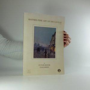 náhled knihy - Haynes fine art of Broadway