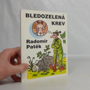 náhled knihy - Bledozelená krev