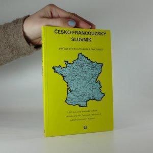 náhled knihy - Česko-francouzský slovník