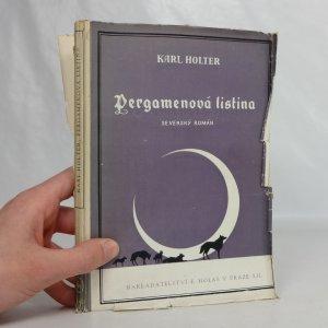 náhled knihy - Pergamenová listina