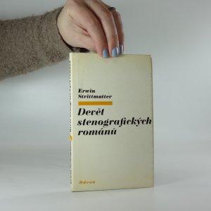 náhled knihy - Devět stenografických románů