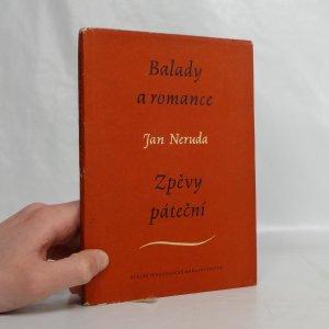 náhled knihy - Balady a romance ; Zpěvy páteční