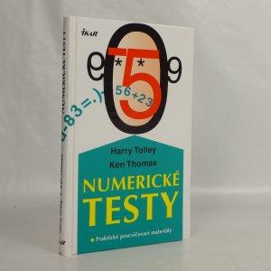 náhled knihy - Numerické testy