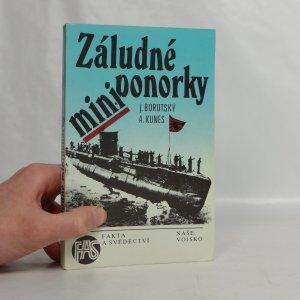 náhled knihy - Záludné miniponorky