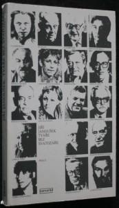 náhled knihy - Tváře bez svatozáře : rozhovory s umělci