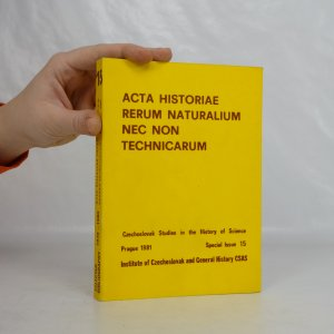náhled knihy - Acta historiae rerum naturalium nec non technicarum = Czechoslovak Studies in the History of Science. Special issue Czechoslovak Studies in the History of Science