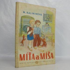 náhled knihy - Míťa a Míša