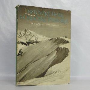 náhled knihy - Liptovské hole a Chočské pohorie