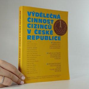 náhled knihy - Výdělečná činnost cizinců v České republice